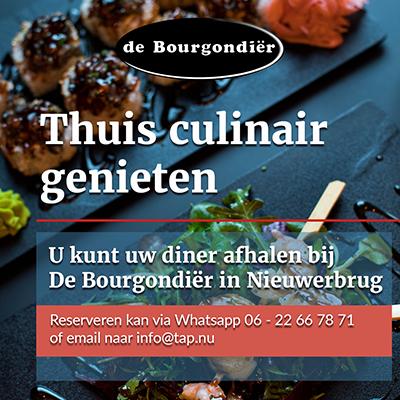 Thuis culinair genieten-De Bourgondier